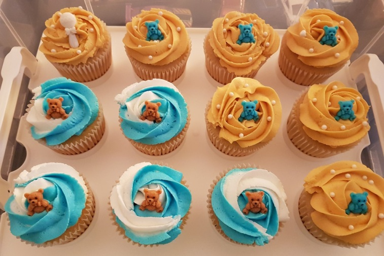 Baby Neil Baby Shower Cupcakes (4)