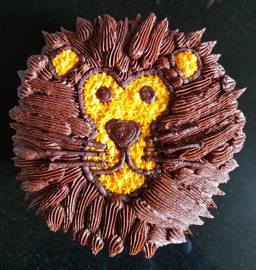 Lion face Cake (1)