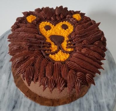 Lion face Cake (2)
