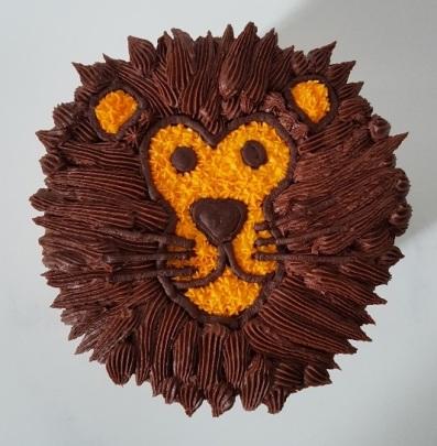 Lion face Cake (5)