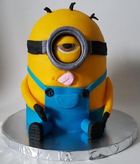 Minion Cake Jan 2018 (1)