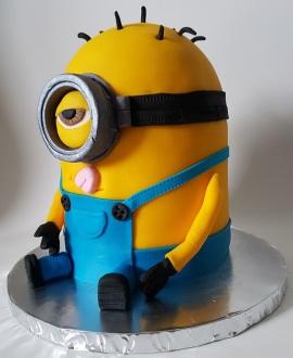 Minion Cake Jan 2018 (5)