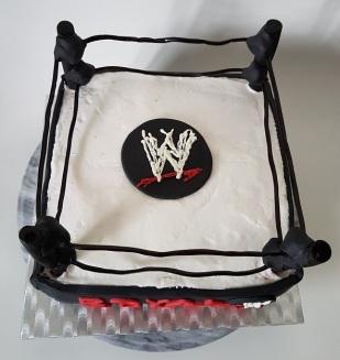 Royal Rumble Wrestling cake Jan 2018 (5)