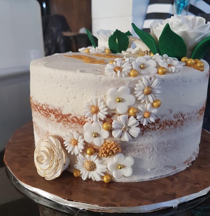 Rustic Birthday Cake (8)