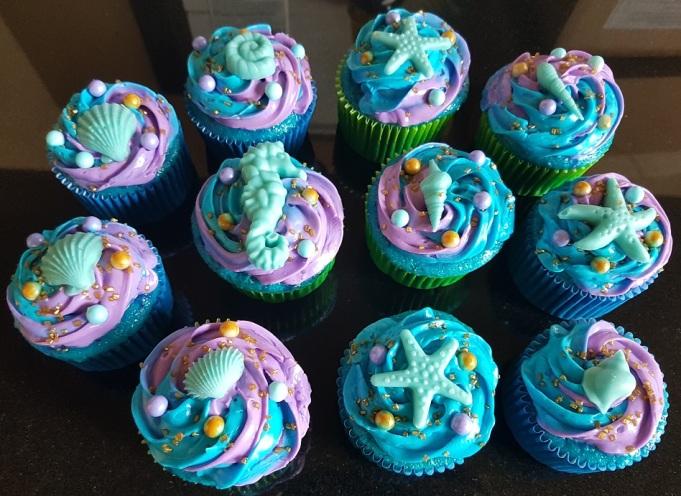 Sea Cupcakes (1)