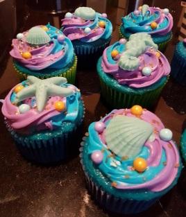 Sea Cupcakes (6)