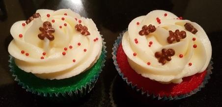 XMas Gingerbread Sprinkle Cupcakes (3)