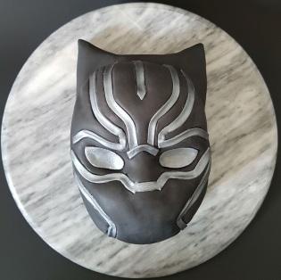 Black Panther Mask Cake - Site (5)