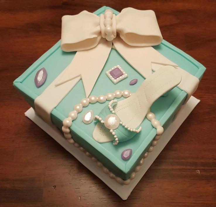 Tiffany Cake Box Blue Heel Shoe (1)4