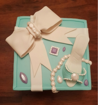 Tiffany Cake Box Blue Heel Shoe (3)1