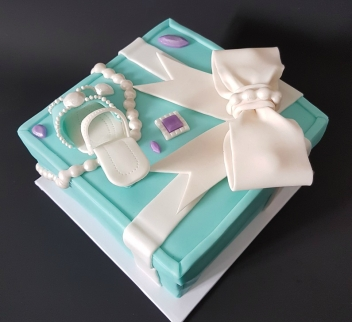 Tiffany Cake Box Blue Heel Shoe (4)1