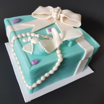 Tiffany Cake Box Blue Heel Shoe (5)1