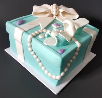 Tiffany Cake Box Blue Heel Shoe (6)1