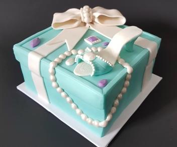 Tiffany Cake Box Blue Heel Shoe (7)1