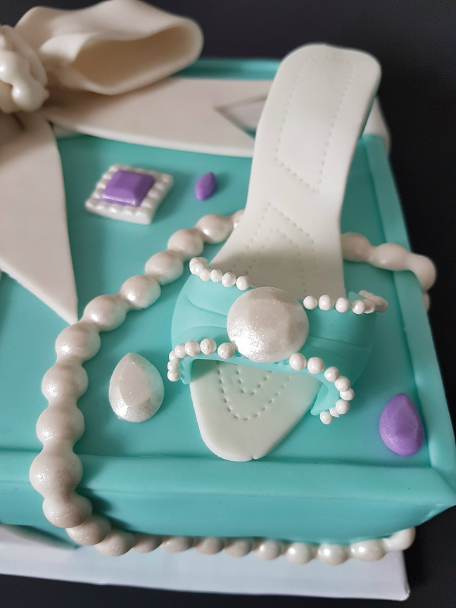 Tiffany Cake Box Blue Heel Shoe (8)1