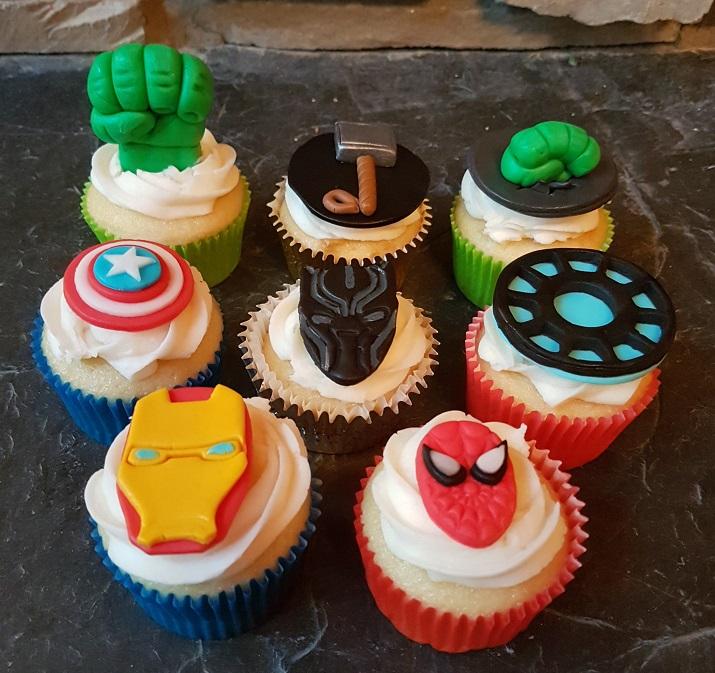 Marvel Cupcakes - June 2018 (5)
