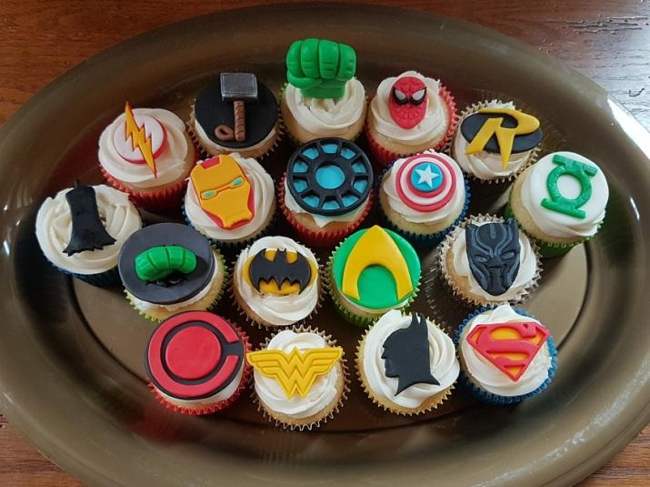 Superhero Cupcakes (DC & Marvel) - ORIGINAL - June 2018 (2)