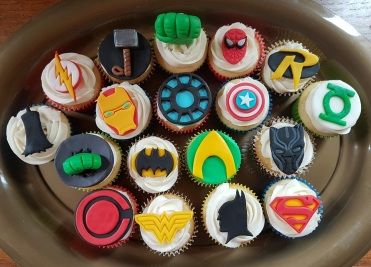 Superhero Cupcakes (DC & Marvel) - ORIGINAL - June 2018 (4)