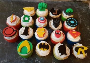 Superhero Cupcakes (DC & Marvel) - ORIGINAL - June 2018 (6)