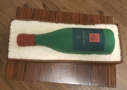 Wine Bottle Cake - Channada (8)