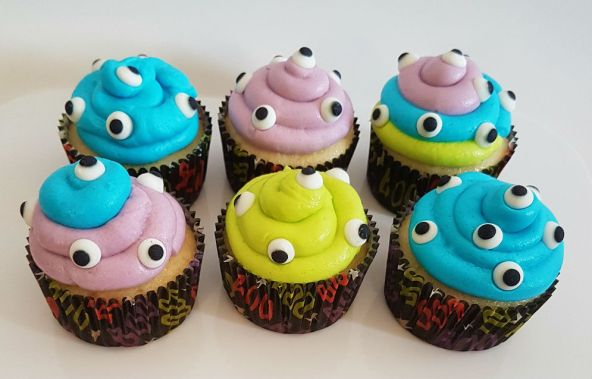 Monster Cupcakes - Oct 2018 (2)