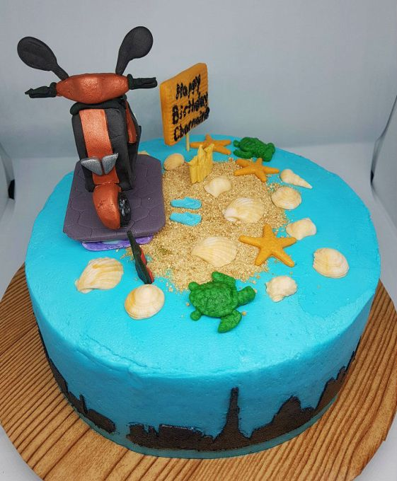 Scooter Cake - 2018 (1)