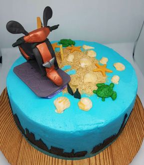 Scooter Cake - 2018 (2)