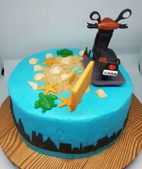 Scooter Cake - 2018 (5)