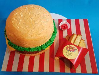 Burger Fries Cake - Nov 2018 (3)