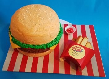 Burger Fries Cake - Nov 2018 (4)