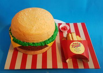 Burger Fries Cake - Nov 2018 (6)