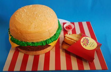 Burger Fries Cake - Nov 2018 - Original (2)