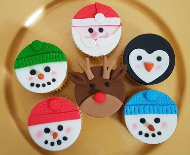 Christmas Character Cupcakes - Dec 2018 (3)