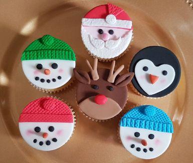 Christmas Character Cupcakes - Dec 2018 (4)