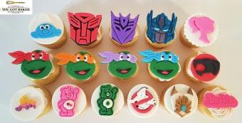 80s Cartoons Cupcakes - 2019 (2)