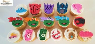 80s Cartoons Cupcakes - 2019 (4)