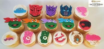 80s Cartoons Cupcakes - 2019 (6)