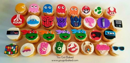 80s Cupcakes Complete (5) - N