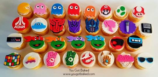 80s Cupcakes Complete (6) - N (1)