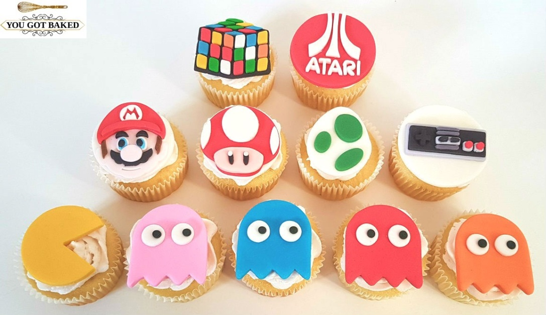 80s Games Cupcakes - 2019 (1)