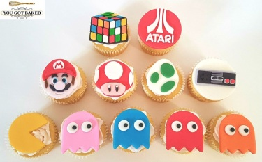 80s Games Cupcakes - 2019 (2)