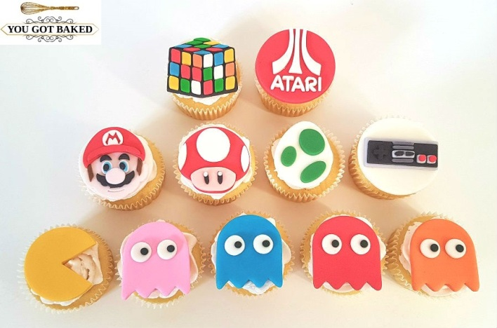 80s Games Cupcakes - 2019 (4)