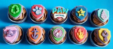 Paw Patrol Badge Cupcakes - Jan 2019 (2)