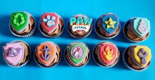 Paw Patrol Badge Cupcakes - Jan 2019 (3)
