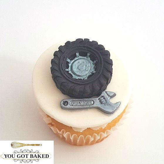 Tire Wrench Mechanic Cupcake (3)
