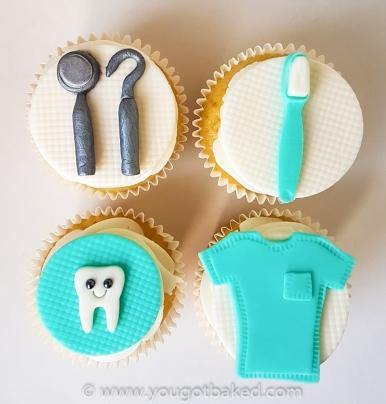 Dentist Cupcakes - July 2019 (1)