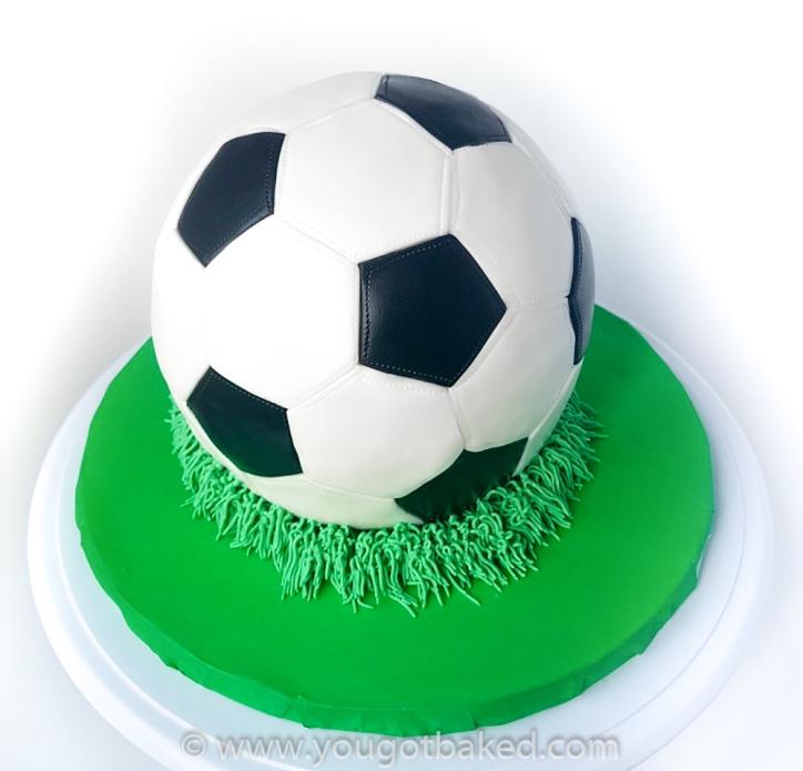 Soccer Ball Cake - August 2019 (5)-2