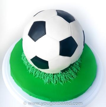 Soccer Ball Cake - August 2019 (6)-3