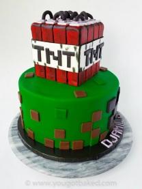 Minecraft BDay Cake - Nov 2019 (3)