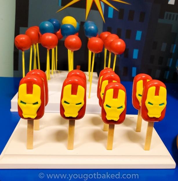 Iron Man Cakesickles (2)